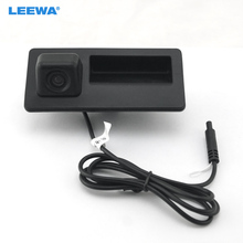 LEEWA Car Trunk Handle CCD Reverse Camera Night Vision Rearview Camera for for Audi A4 A5 S5 Q3 Q5 2013-2015 #2068(China)
