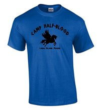 New Style Company Tee Shirts  Camp Half Blood T-shirt Long Island Sound Greek Demigod Shirt 100% Cotton Jersey Security T Shirts