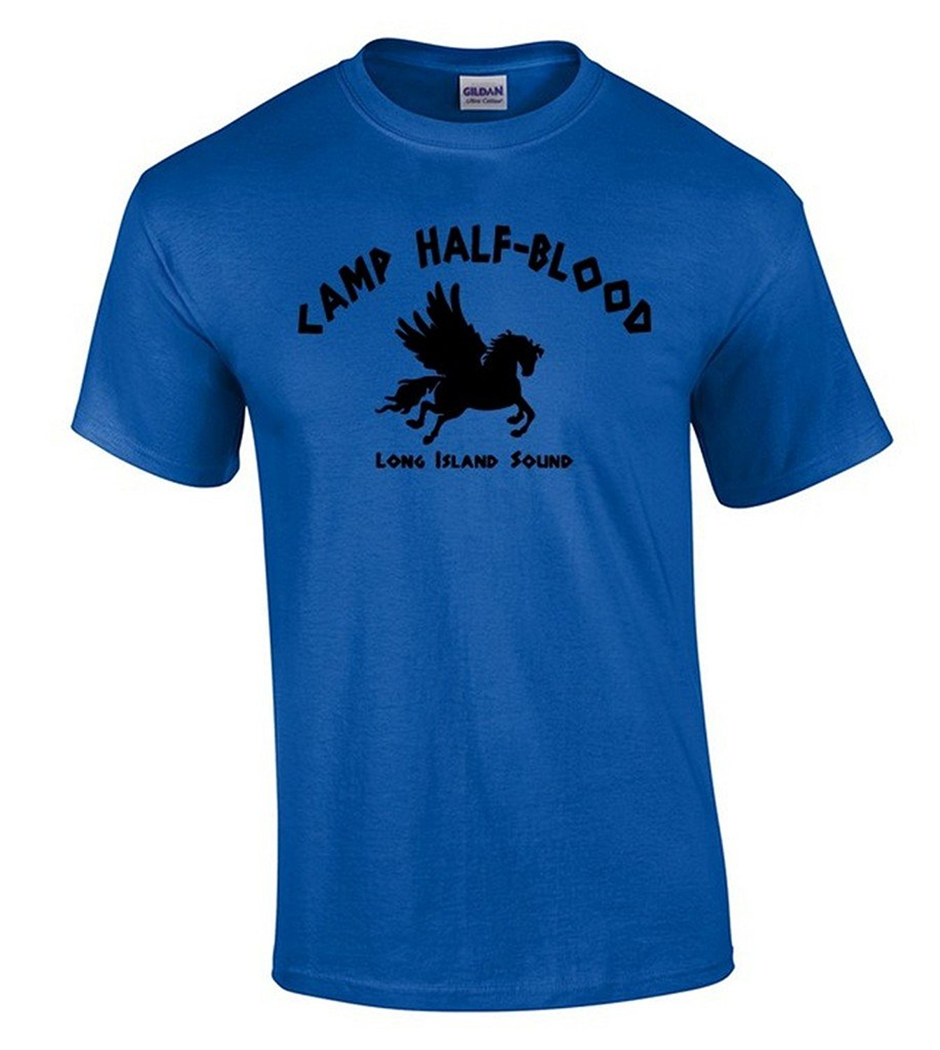 New Style Company Tee Shirts Camp Half Blood T-shirt Long Island Sound Greek Demigod Shirt 100% Cotton Jersey Security T Shirts(China (Mainland))