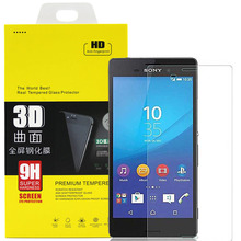 Luxury Tempered Glass Screen Protector Film for Sony Xperia Z Z1 Z2 Z3 Z5 Compact M2 M4 M5 E3 E4 E5 with Retail Box
