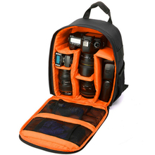 Video Camera Bag Digital Camera Shoulders Padded Backpack Bag Case Waterproof Shockproof Small Bags for Canon Nikon DSLR IP00