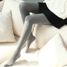 Lady Pantyhose Elastic Step Foot Seamless Tights Autumn Winter Charming Tights Sexy Long Stockings Slim Pantyhose Female(China)