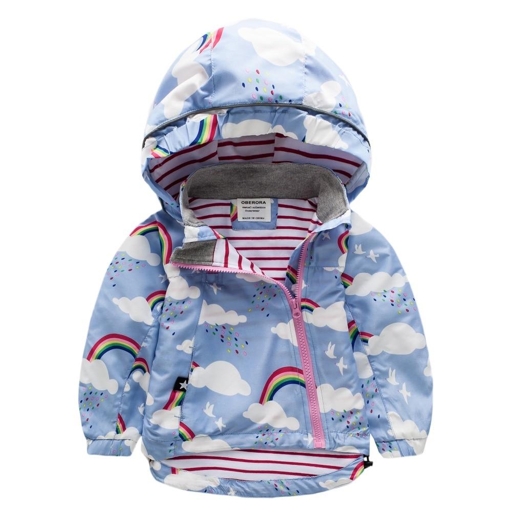 UK Original girls autumn jacket children clothing hooded  jacket goal Coat Windbreaker Children Clothing kids jacket<br>