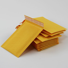 (140*160mm) 10pcs/lots Bubble Mailers Padded Envelopes Packaging Shipping Bags Kraft Bubble Mailing Envelope Bags