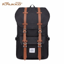 "Backpack Women's Daypack Men's Schulrucksack KAUKKO 17 ""Laptop Backpack for 15"" Notebook Casual Daypacks Stylish backpack(China)"