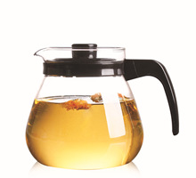New Heat-resistant Glass Tea Pot Coffee Pot Home Transparent Drinkware