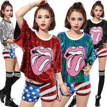 2017 Hot Performance Costume Cheerleading Uniforms Football Girl Hip Hop Clothing For Women Red Sliver Black Green