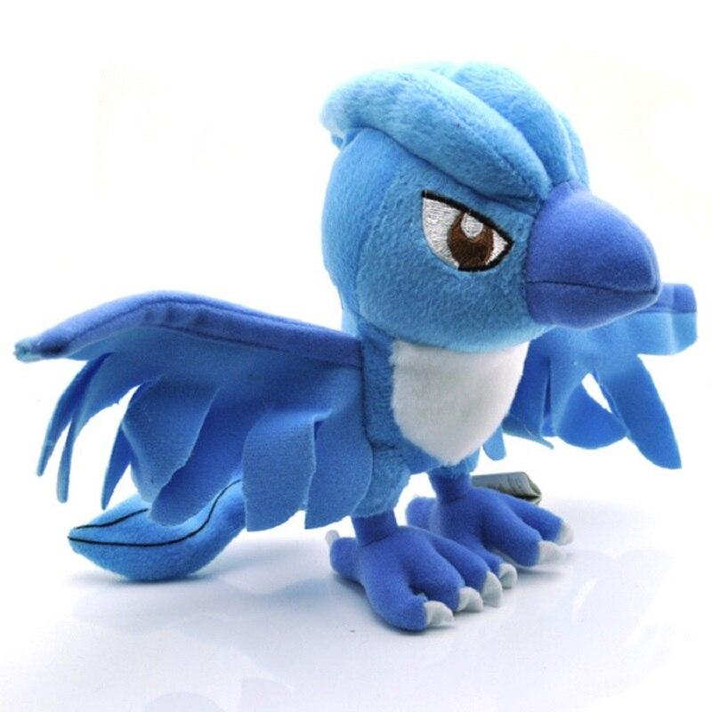 Wholesale 18cm Kawaii Articuno Plush Toys Soft Stuffed Animals Doll Birthday Gift for Children<br><br>Aliexpress