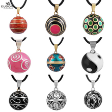 A Variety Of Bizarre Eudora Harmony Chime Ball Mexican Bola locket cage Pendant For Pregnant Women Angel Caller Necklace Gift