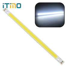 200 x 10MM Super Bright For DIY COB High Quality 12V Warm White Pure White LED Strip Light Lamps Bulb 10W 1000LM(China)