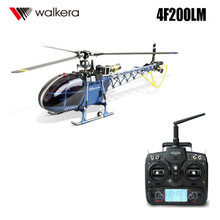 Original Walkera Dragonfly 4F200LM With DEVO 7 Transmitter 6-channel CCPM Metal RC Helicopter RTF