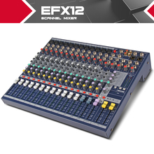 Highest quality!!!All new Soundcraft EFX12 Stage performances Mixer with Effects 110V-220V Voltage 12 channel mixer video
