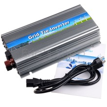 1000W Grid Tie Inverter DC22V-50V to AC110V MPPT Pure Sine Wave Inverter Fit for 24V/36V 60cells/72cells Solar Panel Converter