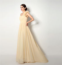 2018 Backlackgirl Elegant High Quality Cheap Bridesmaid Dress New Arrival  Long One Shoulder Chiffon Wedding Party Gown Plus Size ed914d21bc50