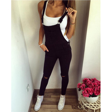 2017 autumn and winter new casual sports shoulders straps pants ladies overalls casual pants(China)