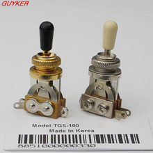 1 pcs Guitar 3 Way Toggle Switch Pickup Selector Nickel / Gold(China)