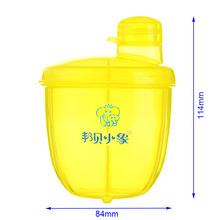 Buy Portable 3 Grids Infant Feeding Milk Powder Container Newborn Baby Food Seal Pot Snacks Dry Fruits Cookies Storage Box M for $4.59 in AliExpress store