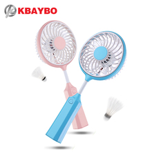 360 degree rotation Hand Fans Battery Operated Rechargeable Handheld Mini Fan Electric Personal Fans Hand Bar Desktop Fan(China)
