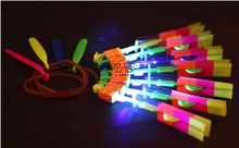 ZDG5  LED Illuminated Arrow Helicopter LED light toy gift kids christmas children's day Wholesale