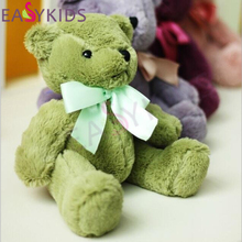 Lovely 7 colors Teddy Bear Dolls Stuffed Animals Plush Toys Teddy Bear Multi-color Sleeping dolls birthday Christmas Gifts Kids
