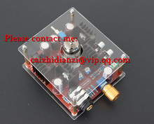 Free Shipping 6N11 Hi-Fi Class A Hybrid Tube Stereo Headphone Amplifier Amp + Power Supply DC24V We are manufacturer