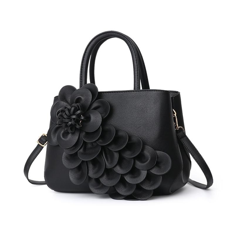 Nevenka Handbag Women Floral Handbags Small Shoulder Bags Leather Crossbody Bag for Women Handbags Purses and Handbags 201806