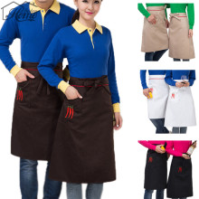 Chef Cotton Apron Sleeveless Aprons Antifouling Wear Waist Aprons Waiter Restaurant Cooking Baking Cafe Aprons Unisex Men Women