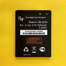 CUUSEY High Quality Mobile Phone Battery 1500mAh BL5204 For Fly IQ447 BL 5204 Telephone Replacement Li-ion Accumulator in stock(China)