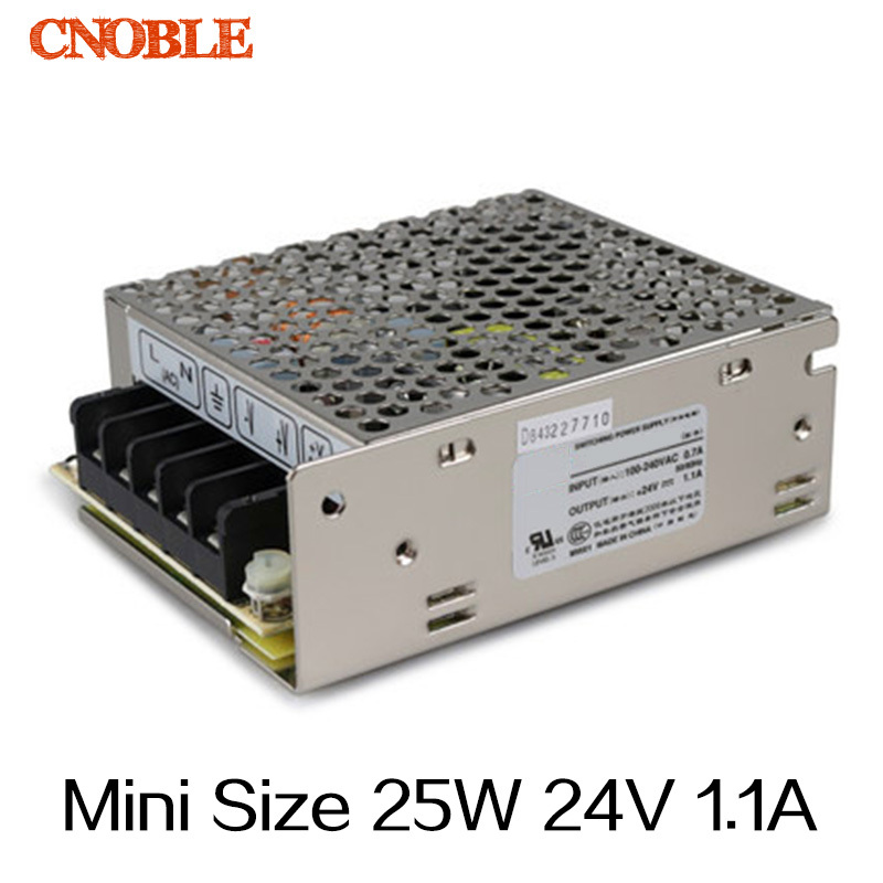 MS-25  25W 24v 1.1A DC mini size compact switching power supply source LED driver<br><br>Aliexpress