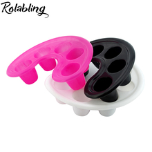 Pink /White / Black Manicure Bowl Soak Finger Acrylic Tip Nail Soaker Tray Remover Bowl Tool soak off remover nail treatment
