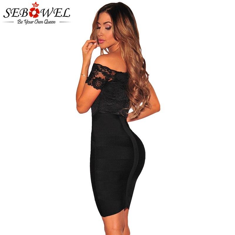 Black-Lace-off-Shoulder-Bodysuit-LC32072-2-2