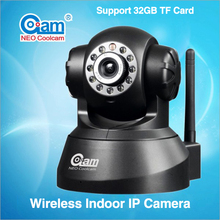 NEO Coolcam NIP-002OAMTF Wireless CCTV IP Camera P2P Dual Audio IR Night Vision Pan/Tilt Speed Monitor and Support 32GB TF Card