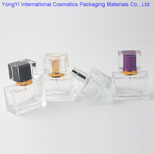 BP-162 Selling 50Pcs High-Quality Crystal Glass Perfume Bottle And Aluminum Nozzle Atomizer, Loved By Women 5 Colors Available(China)