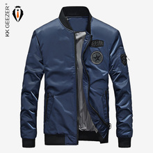 Men Bomber Jacket Air Force Famous Brand Casual Fashion Motorcycle Coat High Quality Slim Zipper Long-distance Travel Jacket