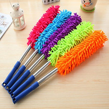 Superfine fiber dust cleaning duster duster with chenille ESP household car duster(China)