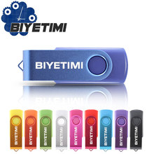 Biyetimi USB Flash Drive memory cle usb stick U disk pen drive 64GB USB 2.0 4GB 8GB 16GB 32GB pendrive Flash Drive Gift(China)