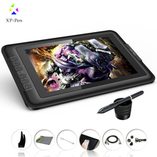 "NEW XP-Pen Artist10S 10.1"" IPS Graphics tablet Monitor Pen Tablet Pen Display with Clean Kit and Drawing Glove (Black)"