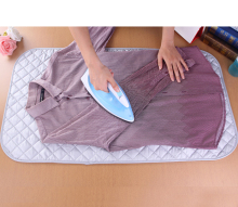 Export portable folding ironing clothes cotton pad replacement ironing board,Silver travel ironing board cover,Size 48*85MM