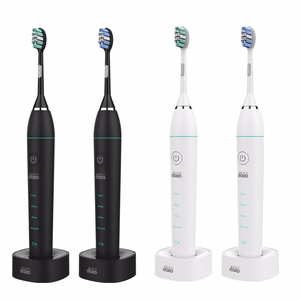Doxo acoustic Soundwave adult sonic electric toothbrush charging dente soft tooth brush intelligent vibration automatic<br>