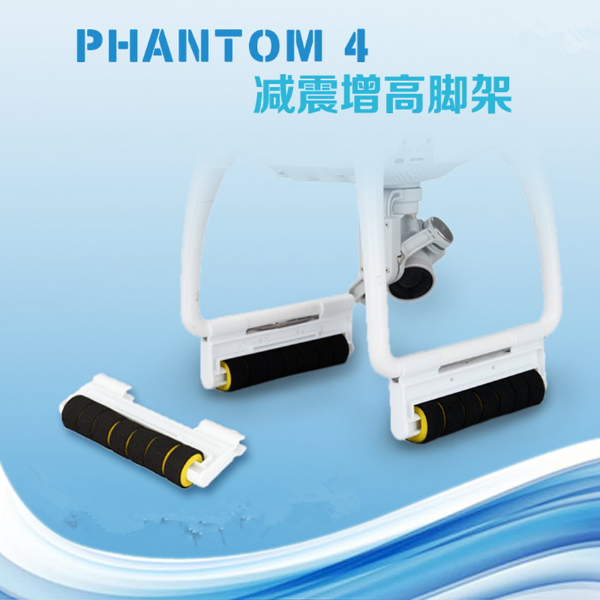 DJI phantom4 Pro / Adv/3 shock absorber tripod suspension bracket landing gear for DJI phantom 4/3 accessories