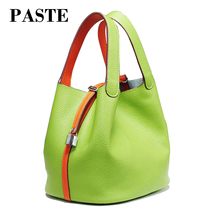 Hot sale 2017 designer Brand Picotin lock bag women's leather handbag bag Cow Leather shoulder bag soft Small female tote bag