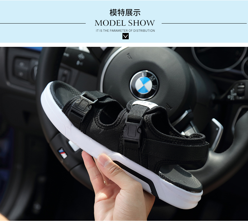 YRRFUOT Summer Big Size Fashion Men's Sandals Outdoor Hot Sale Trend Man Beach Shoes High Quality Non-slip Adult Flats Shoes 46 19 Online shopping Bangladesh