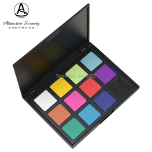 12 Color Eyeshadow Palette Shimmer Matte Beauty Make up Set Eye-shadow 12P Gorgeous Powder