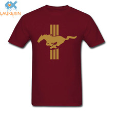 Fashion Funny Print Horse Pony Mustang T-Shirt Hip Hop Men Women Brand Clothing Short Sleeve O Neck Tshirt Tops SIZE XS-2XL Tee