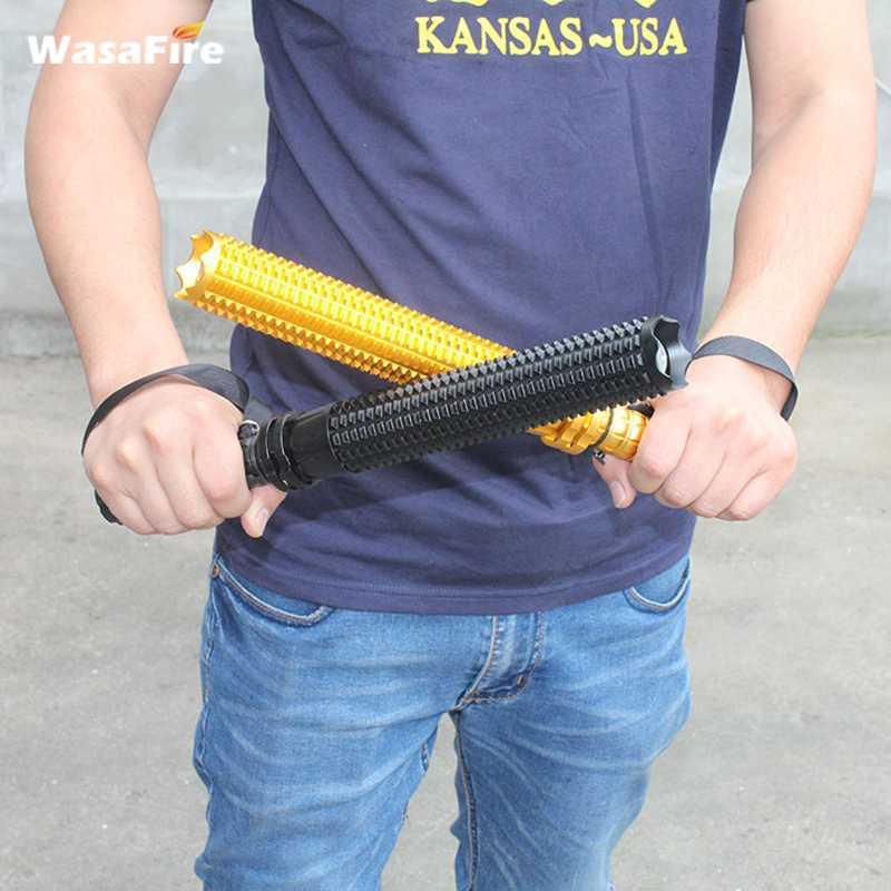 self defense stick led flashlight baton 1 (2)