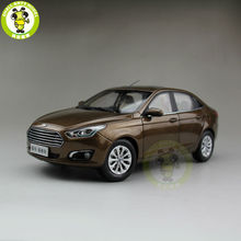 1/18 Ford Escort Diecast car model for collection gifts hobby Brown(China)