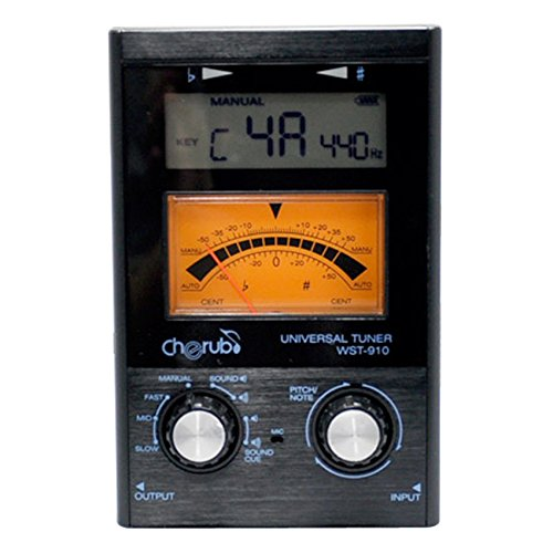 WST-910 Universal Tune Cherub r Chromatic Guitar Bass Violin Ukulele C Ukulele D Erhu Pipa Wind instruments<br>