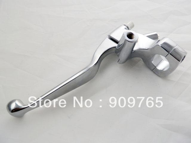 Free Shipping 1 25mm handlebar Chrome LEFT Handlebar Hand Controls Brake Clutch Skull Lever for Honda Shadow VT<br><br>Aliexpress