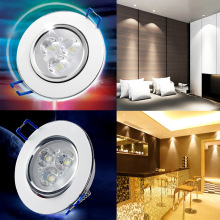 3W LED Ceiling Downlight Lamp Bulb Dimmable Recessed Spot light Interior Design  AC 220V ALI88