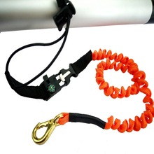 Coiled Paddle Leashes for accessories marine Rope Kayak Canoe Boat Fishing Rod/Paddle Leash Bungee Cord Stretch Water-skiing